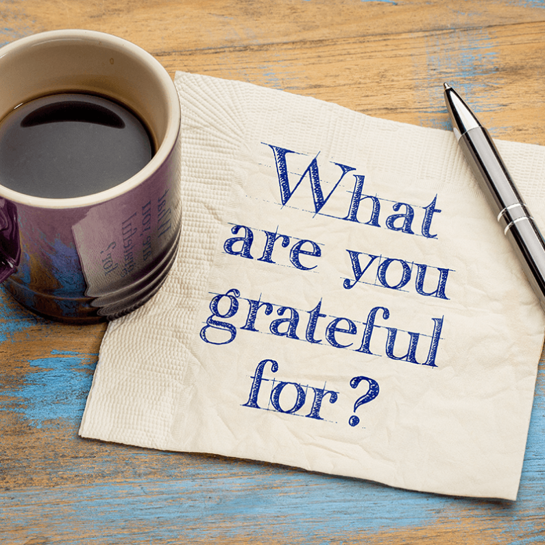 Gratitude is Good for You